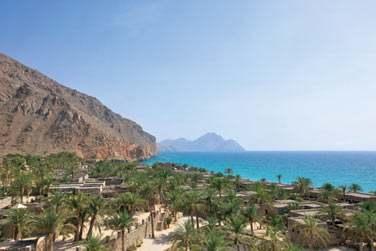 Le design et l'architecture rappellent les villages omanais traditionnels